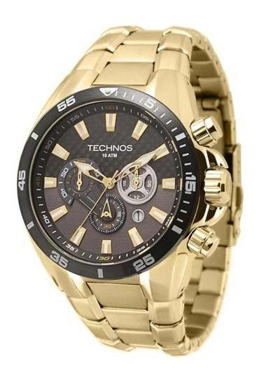 Relógio Technos Sport Dourado Os2aam/4p Garantia E Embala