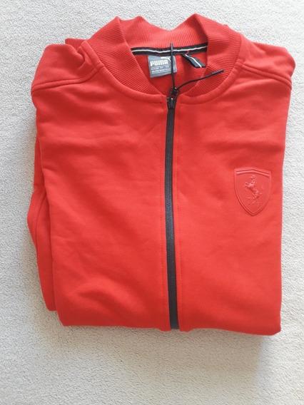 Jaqueta De Moletom Puma Scuderia Ferrari - Vermelha