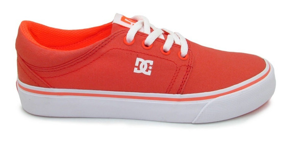 Tenis Dc Shoes Trase Tx Womens Adjs300078 Fuo Fluorescent Or
