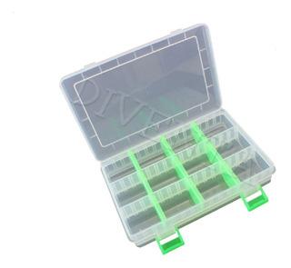 Caja Gavetero Pesca Multiuso Organizador Division Removible