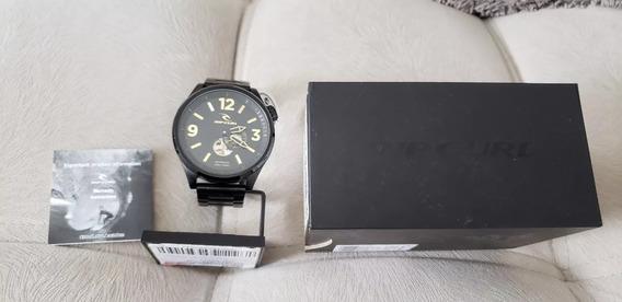 Relógio Rip Curl Preto Titan Xl Ssl Automatico Com Garantia