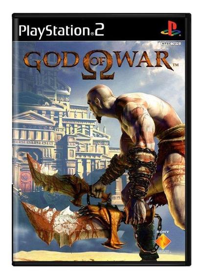 God Of War Ps2 Mídia Física Pronta Entrega