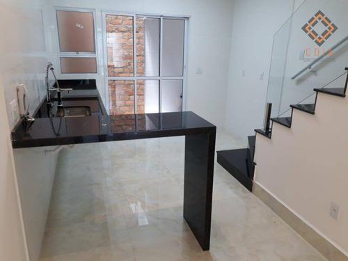 Sobrado Com 3 Dormitórios À Venda, 125 M² Por R$ 850.000,00 - Vila Brasílio Machado - São Paulo/sp - So8484