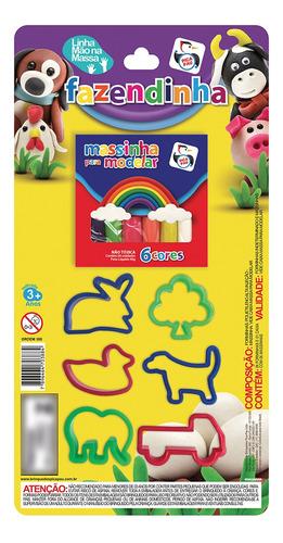 Imagem 1 de 2 de Brinquedo Infantil Massinha De Modelar Didática Pica Pau