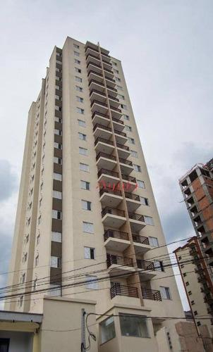 Apartamento À Venda, 58 M² Por R$ 325.000,00 - Parque Das Nações - Santo André/sp - Ap0447