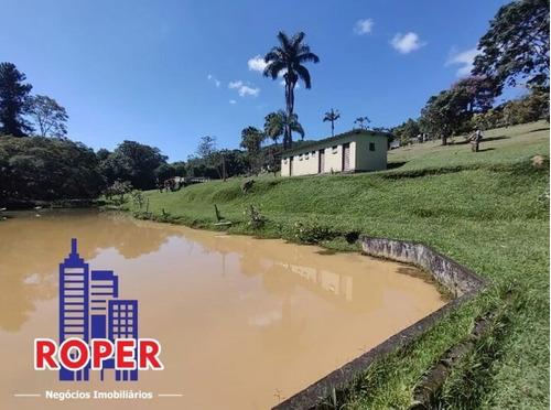 Chácara De 20.000 Metros Com Lago E Pomar À Venda Em Mogi Das Cruzes. - Ch00975 - 69441961