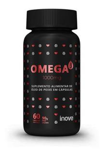 Omega 3 - 60 Cápsulas Softgel - Inove Nutrition - Loja Fisic