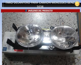Faro Delantero Para Mercedes Benz 1634 (chapulin Original)