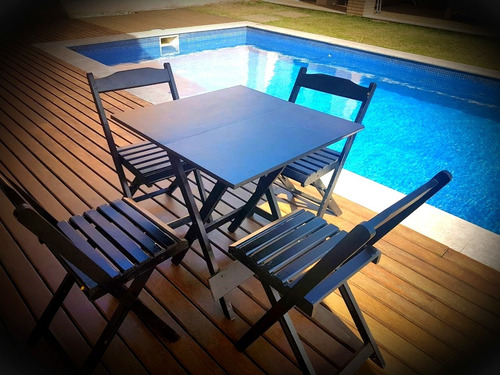 Locação De Mesas E Cadeiras De Madeira E Bistrô Zona Norte