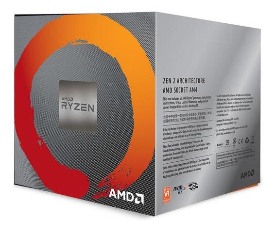 Processador Amd Ryzen 7 3700x 3.6ghz 36mb Am4 Prism Cooler