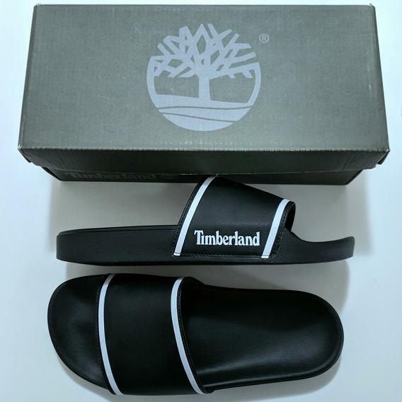 Chinelo Timberland Slide On Basic Masculino Preto 40