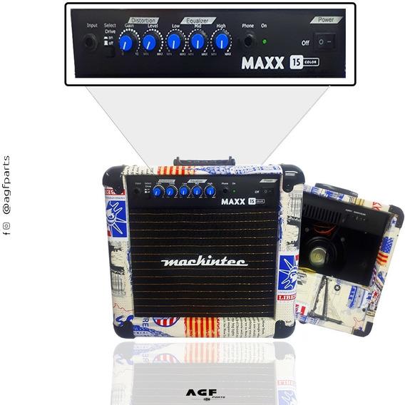 Cubo Amplificador Guitarra Mackintec Maxx15 Usa