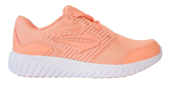 Zapatillas Topper Running Routine Salmón Coral Mujer