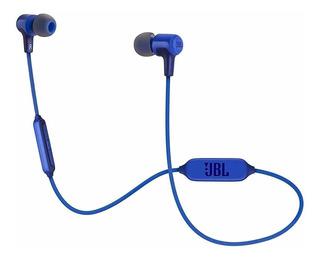 Audífonos inalámbricos JBL E25BT azul