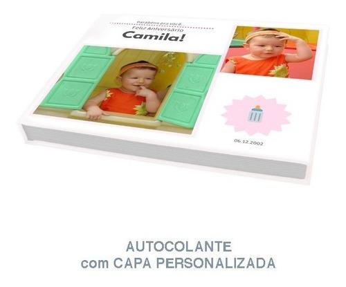Álbum Autocolante Personalizado Para 20 Fotos 20x25 Horizont