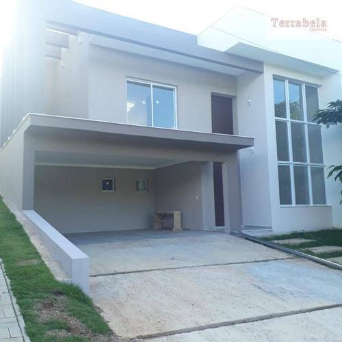 Linda Casa Semi Térrea Recém Construída - Ca0275