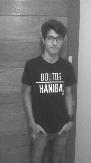 Camisa T-shirt( Algodão),banda Doutor Hanibal Rock-alt.