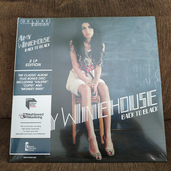 Amy Winehouse Back To Black Deluxe Edition [180g 2lp] Vinyl
