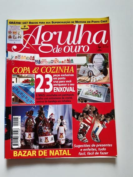 Revista Agulha De Ouro Ponto Cruz Copa E Cozinha D704