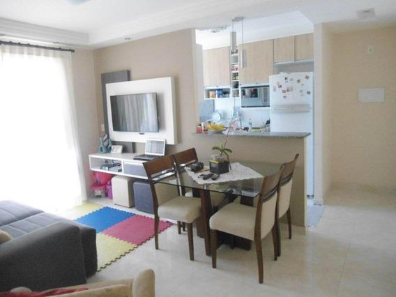 Apartamento Em Monte Castelo, São José Dos Campos/sp De 60m² 2 Quartos À Venda Por R$ 270.000,00 - Ap586556