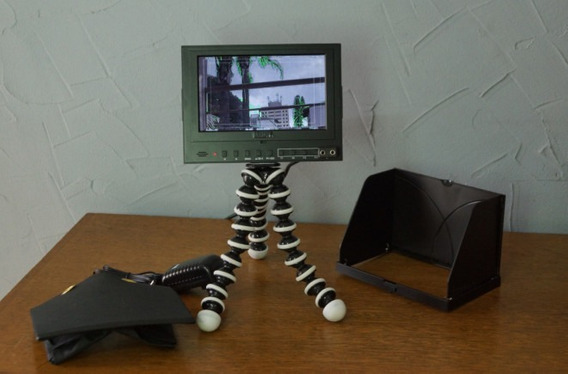 Monitor Liliput 7 Polegadas Caixa Completo Sony Canon Nikon