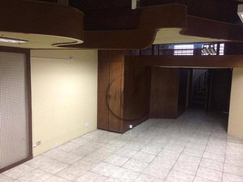 Imagem 1 de 15 de Loja, 50 M² - Venda Por R$ 200.000,00 Ou Aluguel Por R$ 2.000,00/mês - Centro - Santo André/sp - Lo0021