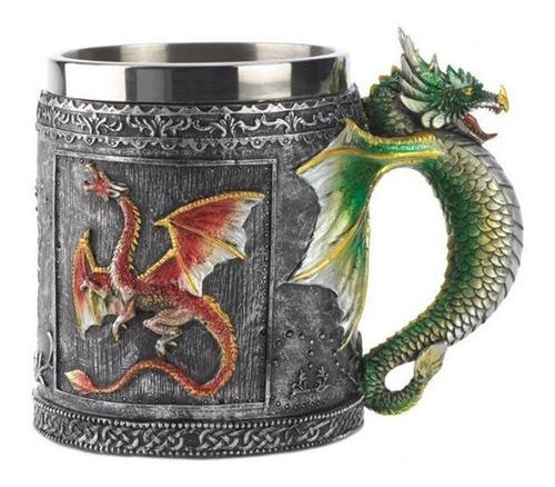 Taza Tarro Dragones Game Of Thrones Medieval Espadas