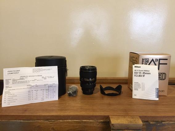 Lente Nikon 17-35 F/2.8d