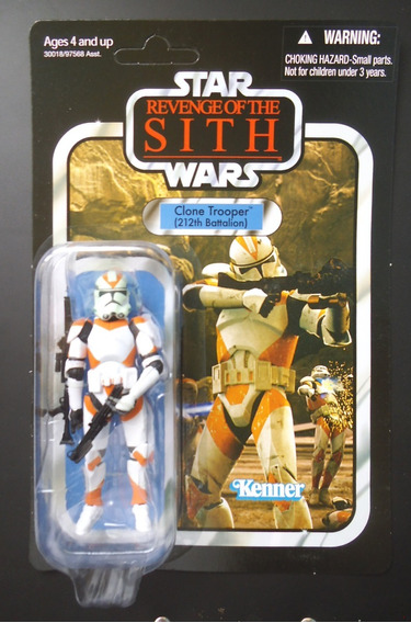 Star Wars - Clone Trooper 212 Battal Vc38 Vintage Collection