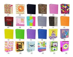 Atacado Álbum 10x15 92 Fotos Luxo. Caixa 12 Álbuns.