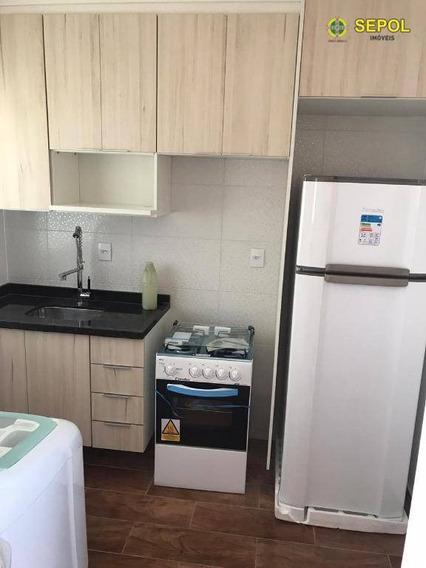 Apartamento Com 2 Dormitórios À Venda, 36 M² Por R$ 248.000,00 - Anália Franco - São Paulo/sp - Ap0811