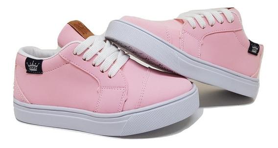 Zapatillas De Nena/niña Color Rosa Talles Del 19 Al 34