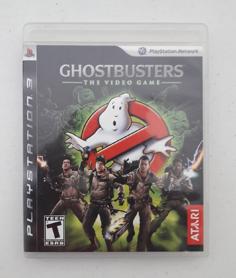 Jogo Caça Fantasmas Ghostbusters Ps3 - The Video Game - Play