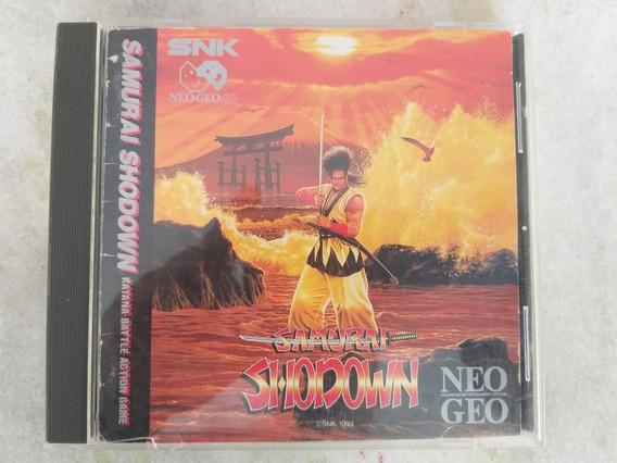 Snk Neo Geo Cd Samurai Shodown