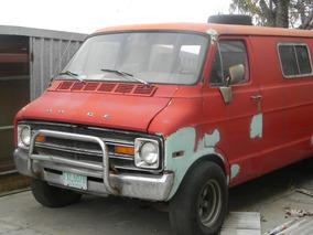 Dodge Van 1974 Extralarga Clasica Para Restaurar