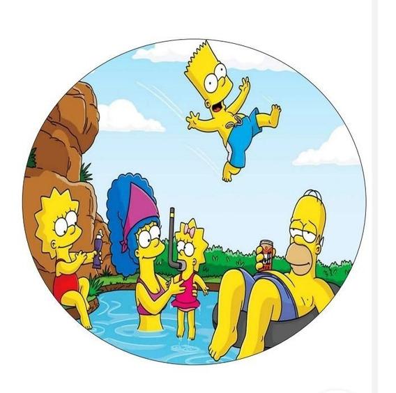 Capa De Estepe Ecosport Crossfox Simpsons