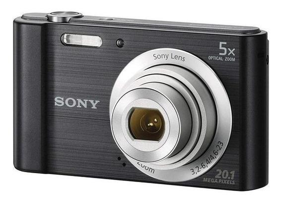 Sony Cyber-shot Dsc-w800 Compacta Preta