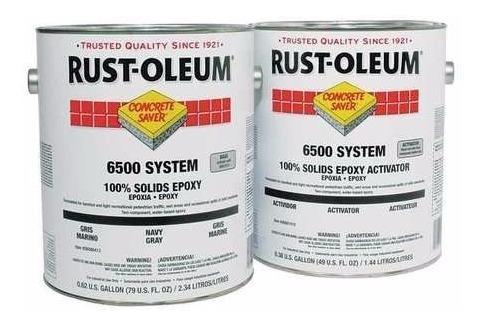 Rust Oleum Resina Lïquida Epoxi Autonivelante Clear X 4 Lt