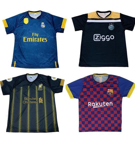 15 Camisetas De Time Atacado Seleçao Europeus 2019 Barato