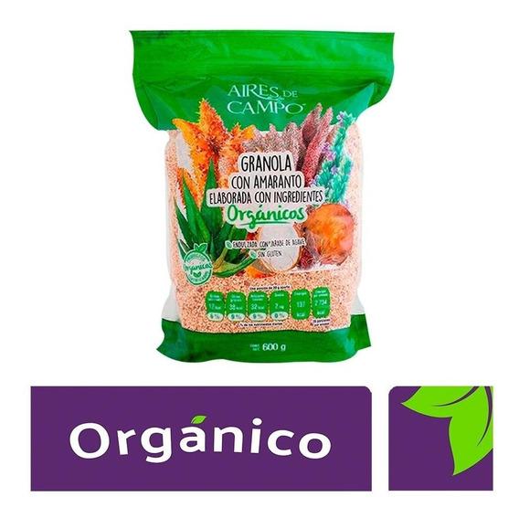 Granola Con Amaranto Organico 600 G