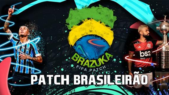 Patch Brazuka Fifa 20 -série A E B, Mundial, Copa, Estaduais