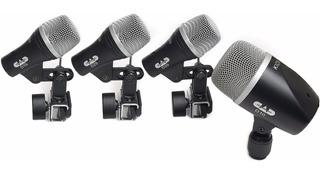 Microfonos Para Bateria Cad 4 Stage