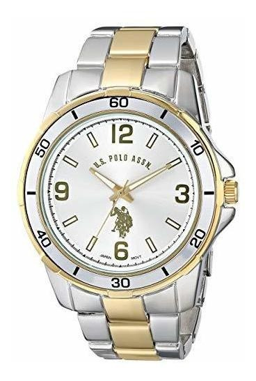 Reloj Para Hombre U.s. Polo Assn. Usc80297two-tone Reloj