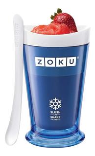 Fábrica De Batidos Zoku Slush Y Shake Maker, Color Naranja,