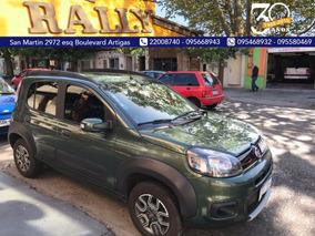 Oportunidad Fiat Uno Evo Way 2016 Con Extras!! Mejor Que 0km