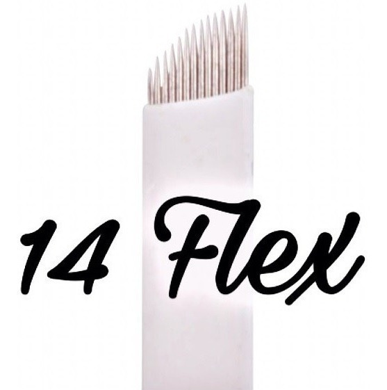 25 Agujas Microblading Filo 12 / 14