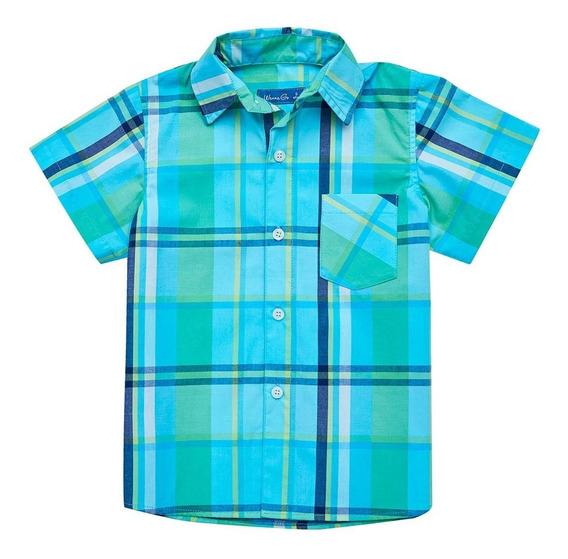 Camisa Escocesa Wg - Niño - Talle 2 Al 10