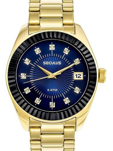 Relógio Feminino Seculus 13019lpsvls3 Barato Original