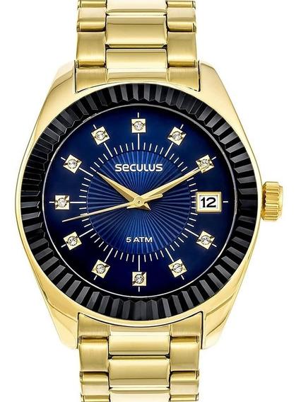 Relógio Feminino Seculus 13019lpsvls3