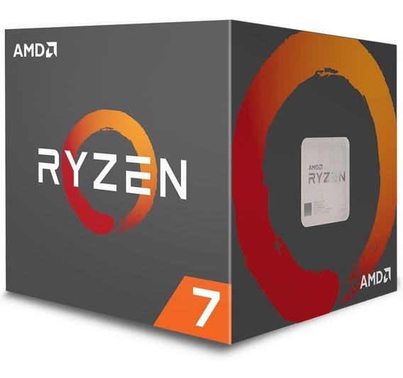 Processador Amd Ryzen 7 2700x 20mb 3.7 - 4.3ghz Am4 Yd270xbgafbox